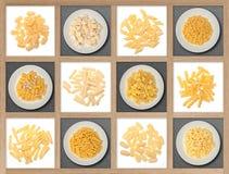 Italian dry pasta Royalty Free Stock Image