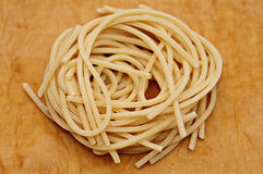 Italian dry spaghetti Stock Photo