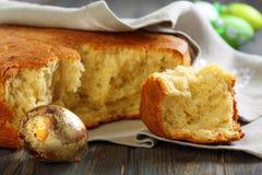 Italian Easter bread. Stock Image