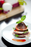Italian Eggplant Parmiggiana Royalty Free Stock Photography