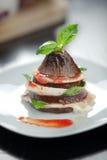 Italian Eggplant Parmiggiana Royalty Free Stock Photos
