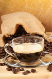 Italian espresso Stock Photo