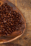 Italian espresso blend coffee beans Stock Photo