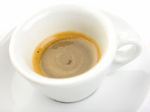 Italian espresso coffee Royalty Free Stock Photo