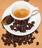Italian espresso coffee Royalty Free Stock Image