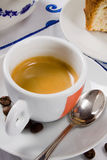 The italian espresso coffee Royalty Free Stock Photos