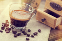 Italian espresso coffee Royalty Free Stock Images