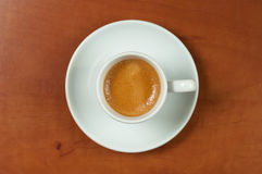 Italian espresso cup. Stock Photography