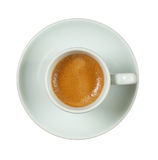 Italian espresso cup. Stock Photos