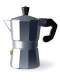 Italian espresso machine stock photography