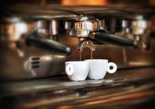 Italian espresso machine in a restaurant Stock Photography