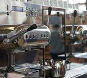 Italian espresso machine Royalty Free Stock Image