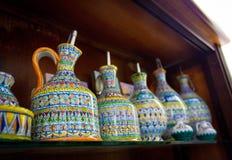 Italian Estruscan style ceramics Royalty Free Stock Image