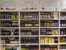 Italian extra virgin olive oil Royalty Free Stock Images