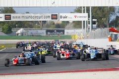 Italian F4 Championship Powered by Abarth Royalty Free Stock Photo