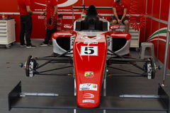 Italian F4 Championship Powered by Abarth Royalty Free Stock Images