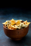 Italian Farfalle Pasta Royalty Free Stock Photo