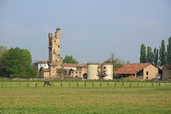 Italian Farmland Royalty Free Stock Photography