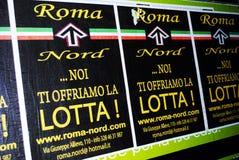 Italian fascist posters Stock Photography