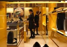 Italian fashion boutique Royalty Free Stock Image