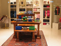 Italian fashion boutique Stock Images