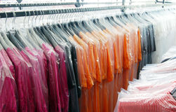 Italian fashion, clothing factory - Warehouse Stock Photos