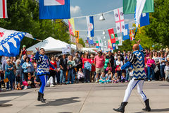 Italian festival Stock Photo
