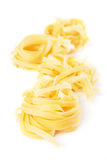 Italian fettuccine pasta Royalty Free Stock Photo