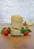 Italian fettuccine pasta Royalty Free Stock Image