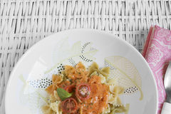 Italian filled pasta Royalty Free Stock Images