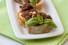 Italian Fingerfood Stock Photography