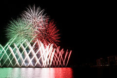 Italian fireworks Royalty Free Stock Images