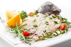 Italian Fish Crudo Stock Images