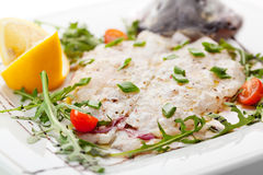Italian Fish Crudo Stock Image