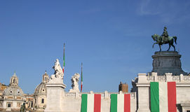 Italian_flag Photo libre de droits