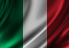 Italian flag Stock Photography