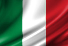 Italian flag Stock Photos