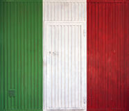 Italian flag Royalty Free Stock Photography
