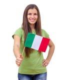 Italian Flag Stock Photography
