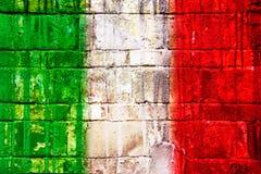 Italian flag, Stock Photos