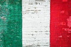 Italian flag Stock Image