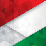 Italian flag colours abstract background. Royalty Free Stock Images