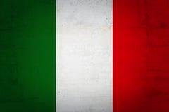 Grunge Italian Flag Background Royalty Free Stock
