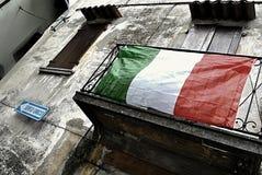 Italian flag Royalty Free Stock Photo