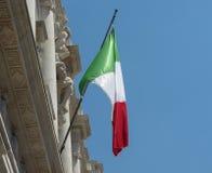 Italian Flag of Italy Royalty Free Stock Photography
