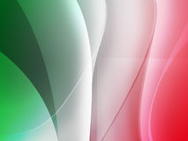 Italian Flag Mac Background Stock Photography