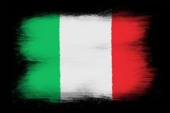 The Italian flag Stock Photos