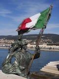 The italian flag Royalty Free Stock Image