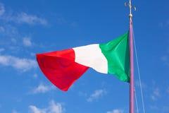 Italian flag Royalty Free Stock Photography