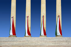 Italian Flags Royalty Free Stock Images